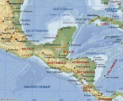 travel songs map tikal guatemala